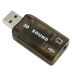 USB to Headset/ Microphone PC Sound Card Adapter