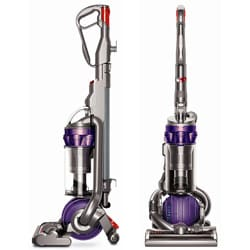 Dyson DC25 All Floors Iron/Purple Upright Vacuum (Refurbished)