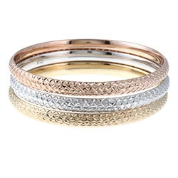 La Preciosa Sterling Silver Stackable Bangles
