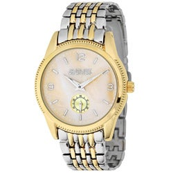 August Steiner Women's Two-Tone Bracelet Swiss Quartz Watch