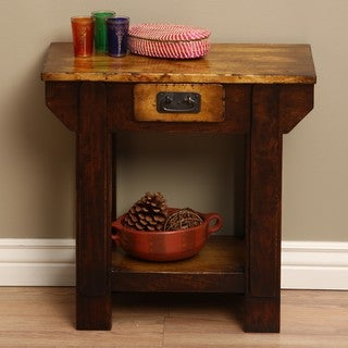 Black Smith Wooden End Table (Indonesia)