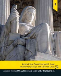 American Constitutional Law: Introductory Essays and Selected Cases (Paperback)