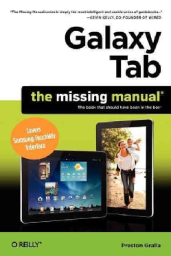 Galaxy Tab 2: The Missing Manual (Paperback)
