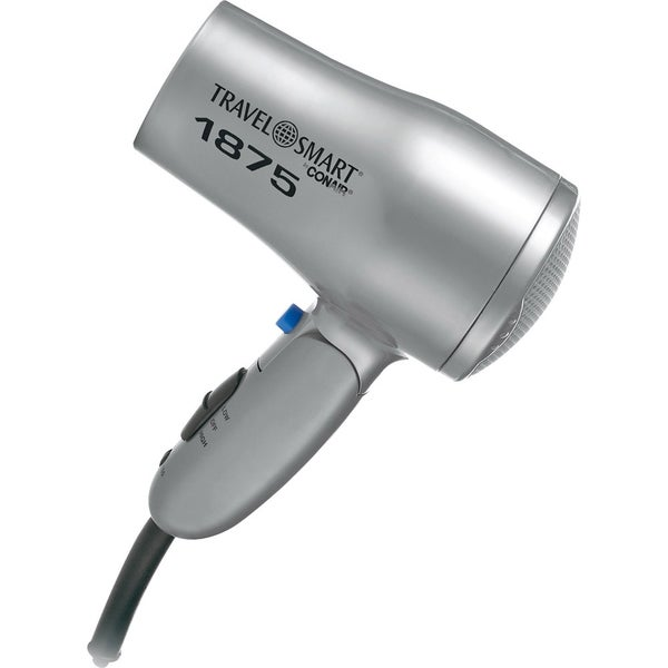 1875-Watt Folding Travel Mini Hair Dryer