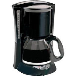 Brentwood TS-218B 12-cup Black Coffeemaker