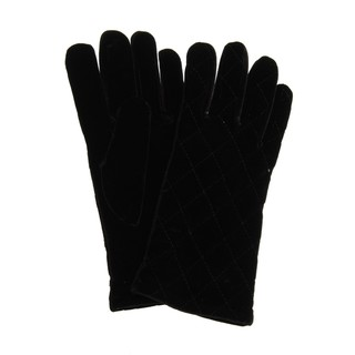 Cejon Women's Quilted Velvet Gloves