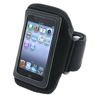 INSTEN Deluxe Black Sport Armband for Apple iPod Touch