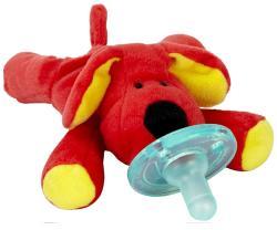 WubbaNub Red Dog Infant Pacifier