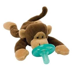 WubbaNub Monkey Infant Pacifier