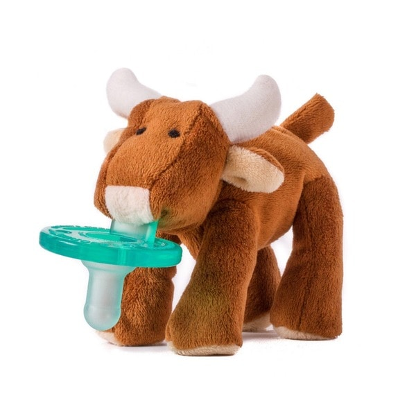 WubbaNub Long Horn Bull Infant Pacifier
