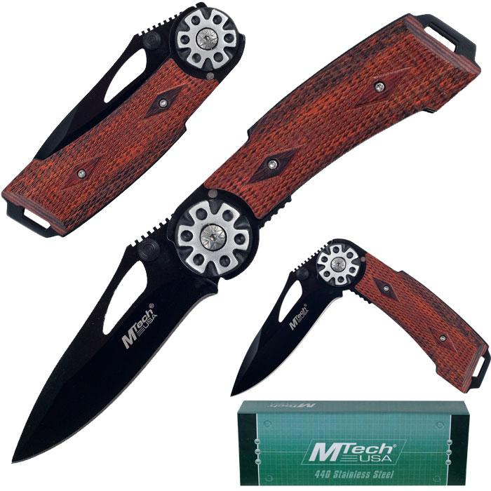 MTech Pistol Grip 7.75-inch Tactical Folding Knife