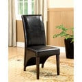 Furniture of America Midtown Leatherette Dining Chairs (Set of 2)