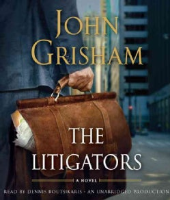 The Litigators (CD-Audio)