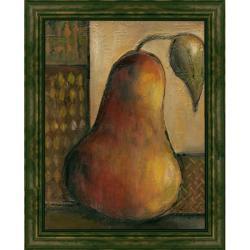 Joyce Combs 'Peralicous I' Embellished Framed Art Print