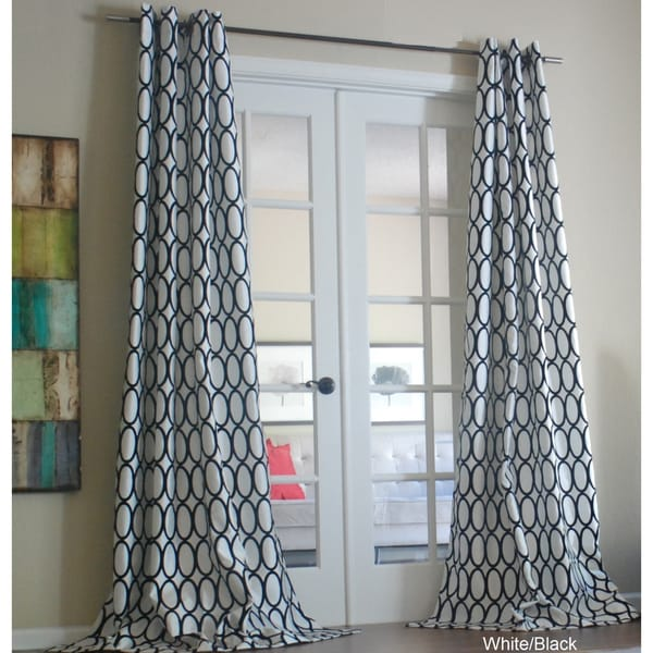 Pebbles 84-inch Curtain Panel