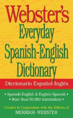 Webster's Everyday Spanish-English Dictionary (Paperback)