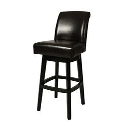 Brown Lake Village 26-inch Swivel Counter Stool