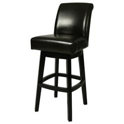 Black Lake Village 26-inch Swivel Counter Stool