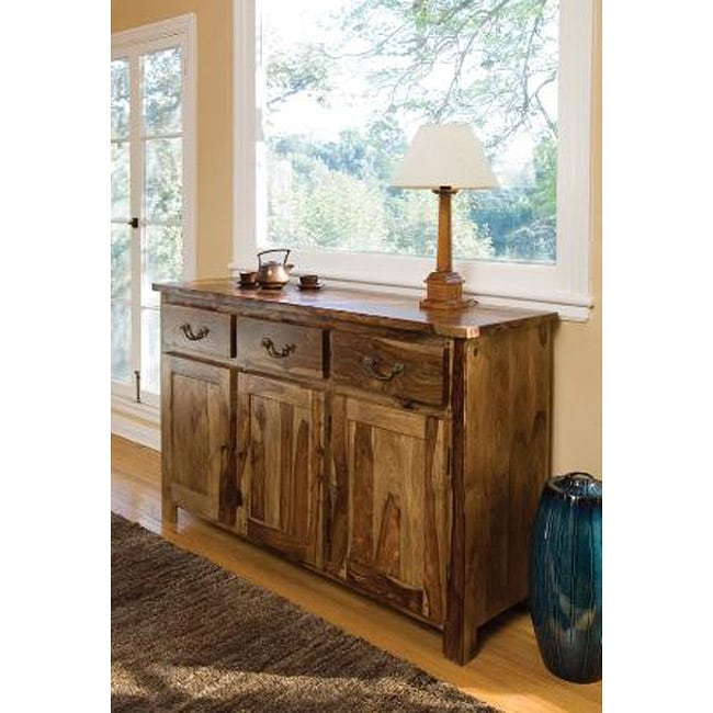 Kosas Home Alicia Natural Wood Buffet