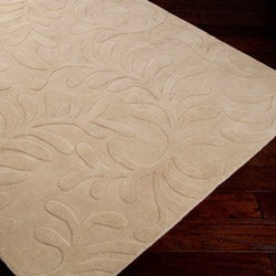 Candice Olson Loomed Pear Floral Pllush Wool Rug (8' X 11')