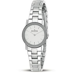 Skagen Women's Stainless Steel White Dial Watch