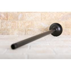 Oil Rubbed Bronze 17-inch Ceiling Mount Shower Arm