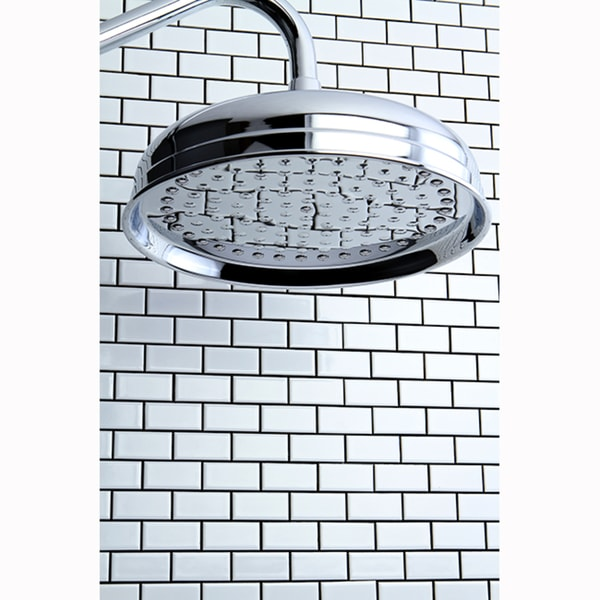 moen 10 inch rain shower head. Alfi LED5001 Universal Chrome Shower Heads  Moen One Function 10 Inch Diameter Spray Head S6320