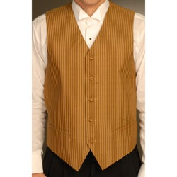 Ferrecci Men's One-piece Mustard Color Vest