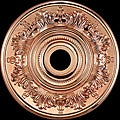 21-inch Copper-finish Medallion