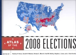 Atlas of the 2008 Elections (Hardcover)