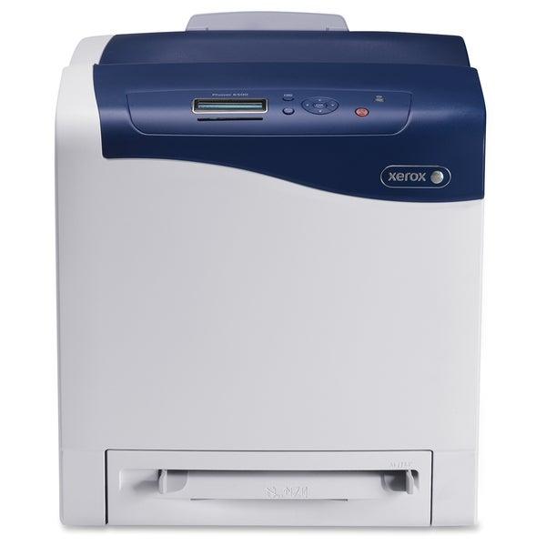 Xerox Phaser 6500N Laser Printer - Color - 600 x 600 dpi Print - Plai