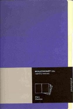 Moleskine Purple Folio Professional Filers: Set of 3 Folders (Organizer)