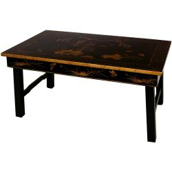 Rosewood Folding Legs Tea Table (China)