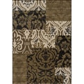 Dream Beige Panel Rug (7'10 x 9'10)