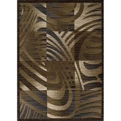 Dream Power-loomed Multi Abstract Blocks Rug (7'10 x 9'10)