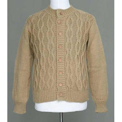 Alpaca Wool Men's 'Camel Sands' Cardigan Sweater (Peru)