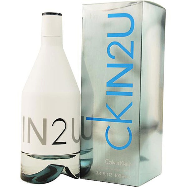 Calvin Klein CKIN2U HIM Men's 3.4-ounce Eau de Toilette Spray