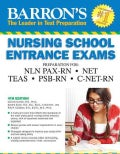 Barron's Nursing School Entrance Exams (Paperback)