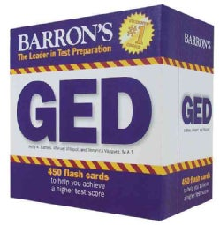 Barron's GED Flash Cards: 450 Cards to Help You Earn a Ged (Cards)