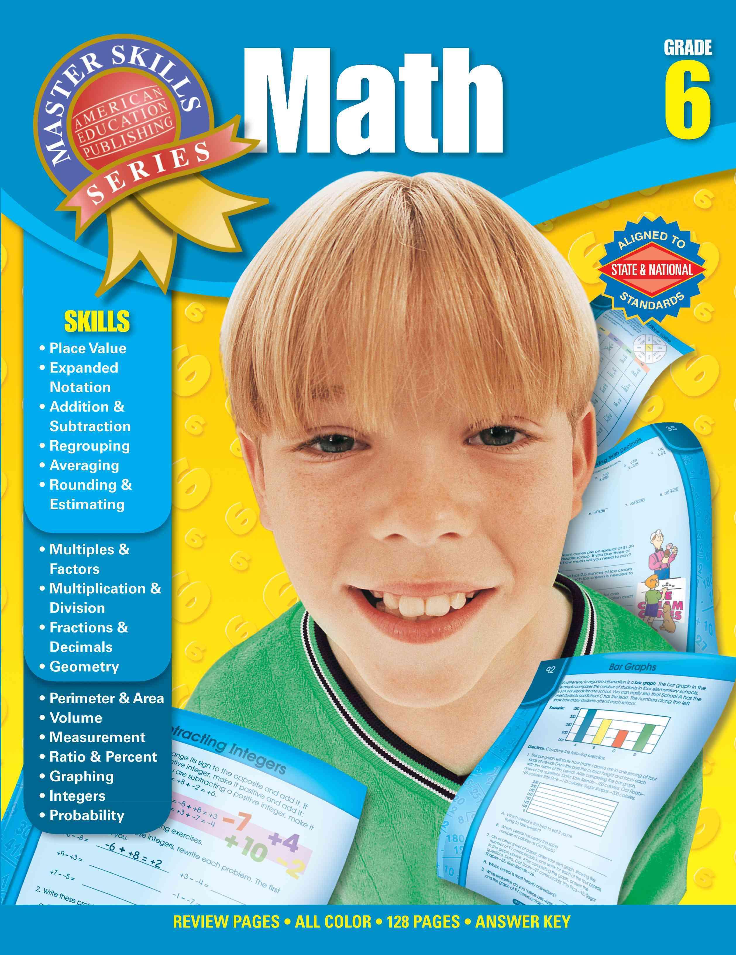 Math Grade 6 (Paperback)