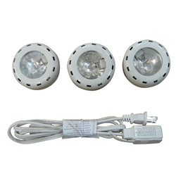 Undercabinet 3-light Kit with White Finish
