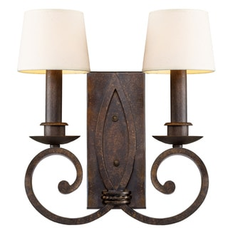 Dark Umber 2-light Wall Sconce