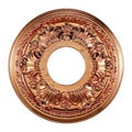 Copper Finish 11-inch Decorative Medallion