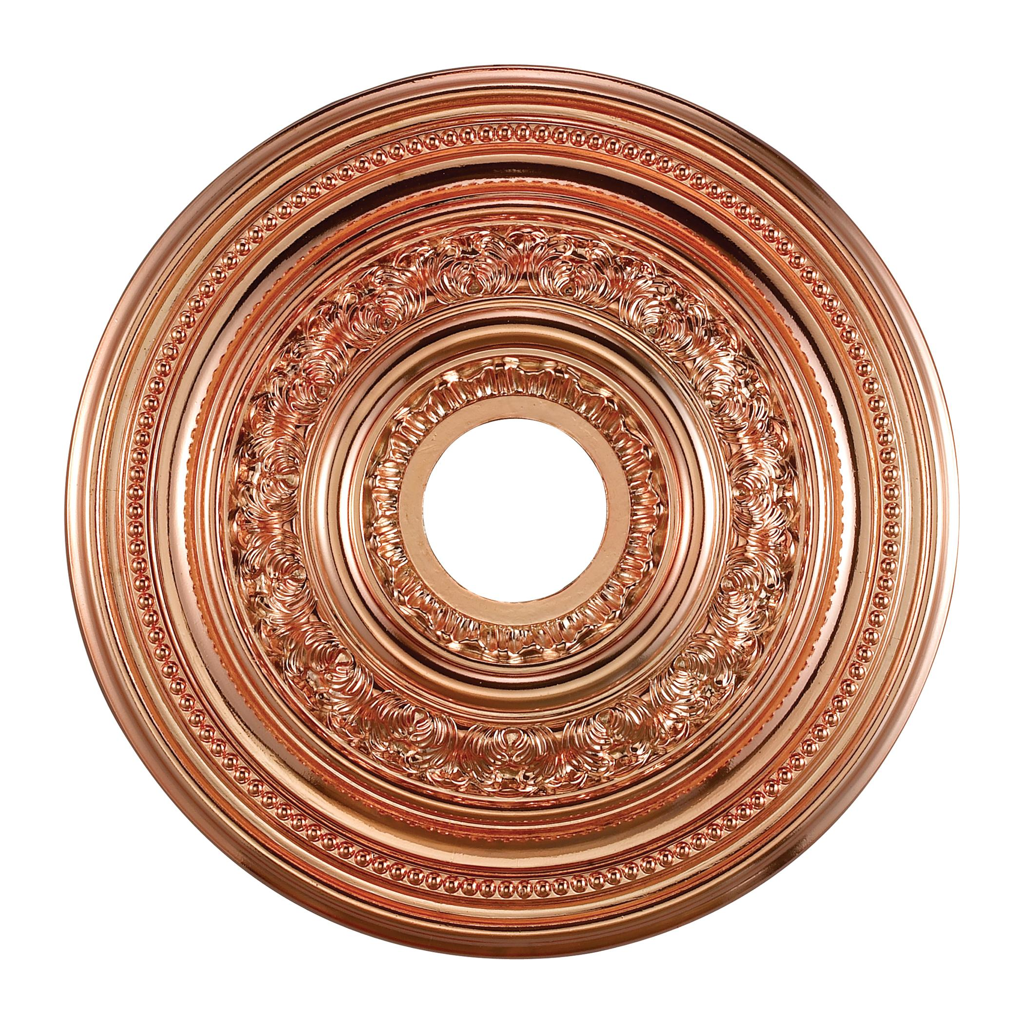 Elk Lighting Bordeaux: Copper Finish 18-inch Decorative Medallion
