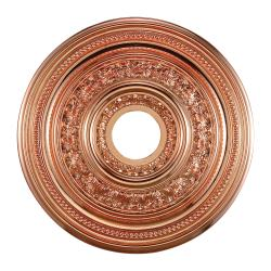 Copper Finish 18-inch Decorative Medallion
