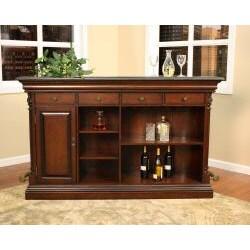 Haley 70-inch Wood Home Bar