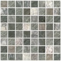 SomerTile 7.75x7.75-inch Montage Blink Decor Porcelain Wall Tiles (Pack of 10)