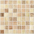 SomerTile 7.75x7.75-inch Montage Dharma Decor Porcelain Wall Tiles (Pack of 10)