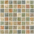 SomerTile 7.75x7.75-inch Montage Lumine Decor Ceramic Wall Tiles (Pack of 10)