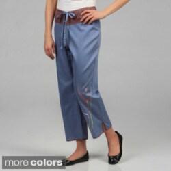Julianna Rae Women's 'Harmony' Cotton Lounge Pants